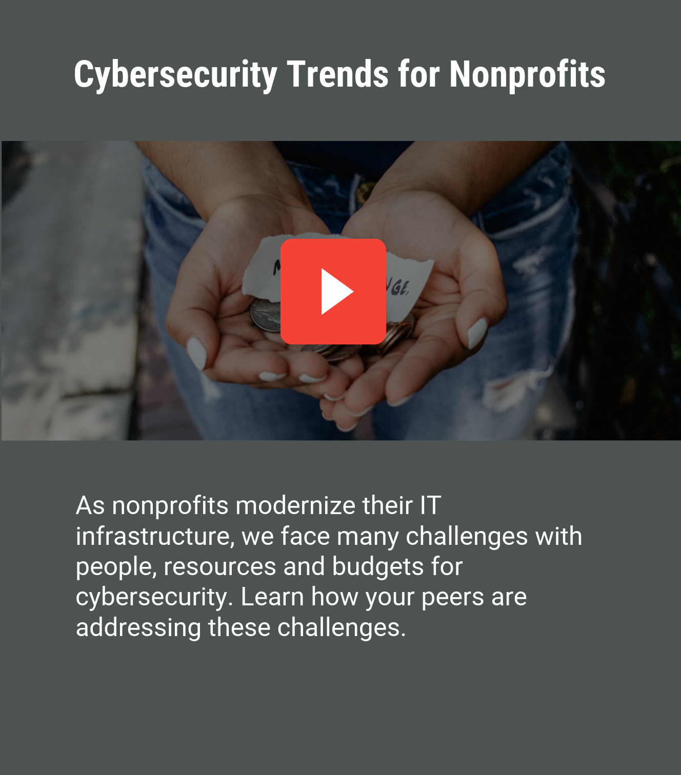 Cybersecurity Trends for Nonprofits button