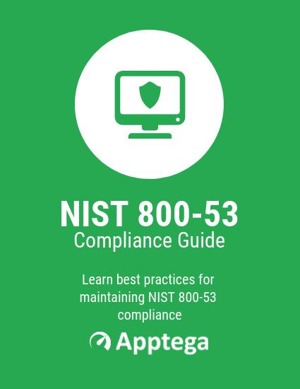 NIST 800 53 Compliance Checklist