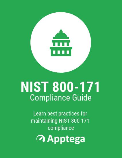 NIST 800 171 Compliance Checklist